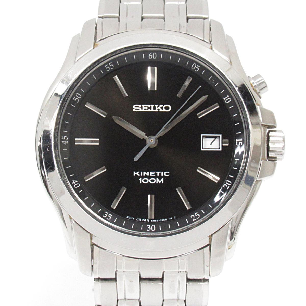 ≪期間限定≫メルマガ登録でクーポンGET! 【中古】 セイコー キネティック 腕時計 ウォッチ メンズ ステンレススチール (SS) (5M62-0CP0) | SEIKO BRANDOFF ブランドオフ ブランド ブランド時計 ブランド腕時計 時計