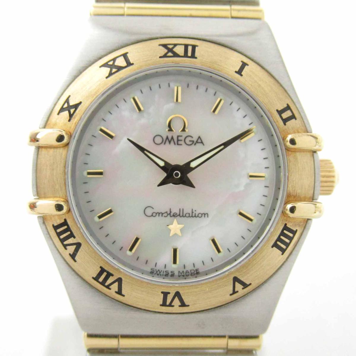 【中古】 オメガ コンステレーション ウォッチ 腕時計 レディース K18YG (750) イエローゴールド ステンレススチール (SS) | OMEGA BRANDOFF ブランドオフ ブランド ブランド時計 ブランド腕時計 時計
