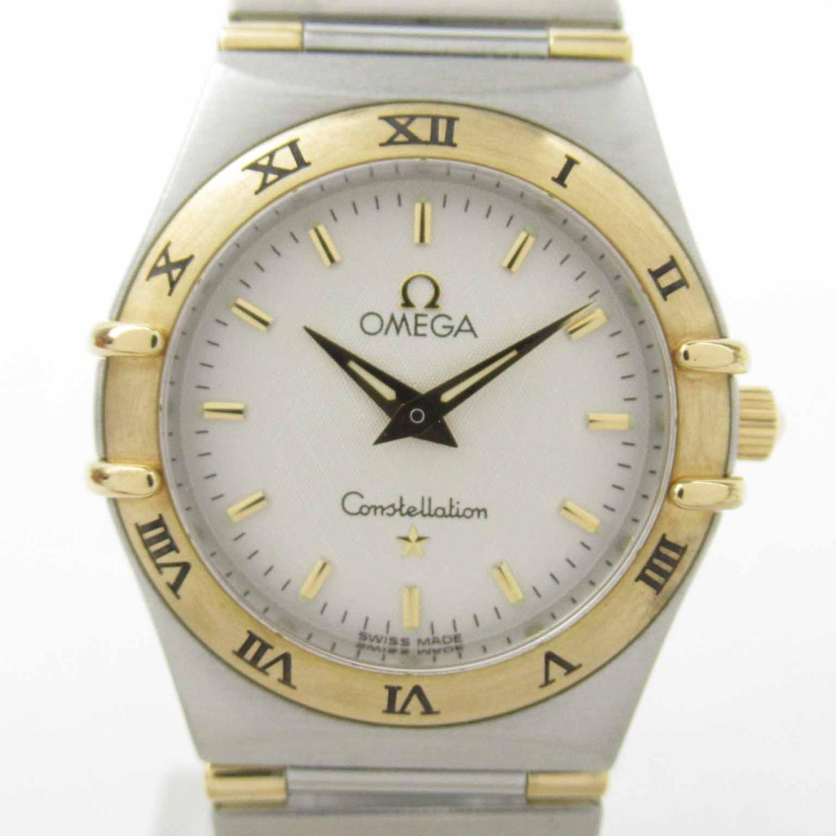 【中古】 オメガ コンステレーション ウォッチ 腕時計 レディース K18YG (750) イエローゴールド ステンレススチール (SS) (1372.30) | OMEGA BRANDOFF ブランドオフ ブランド ブランド時計 ブランド腕時計 時計