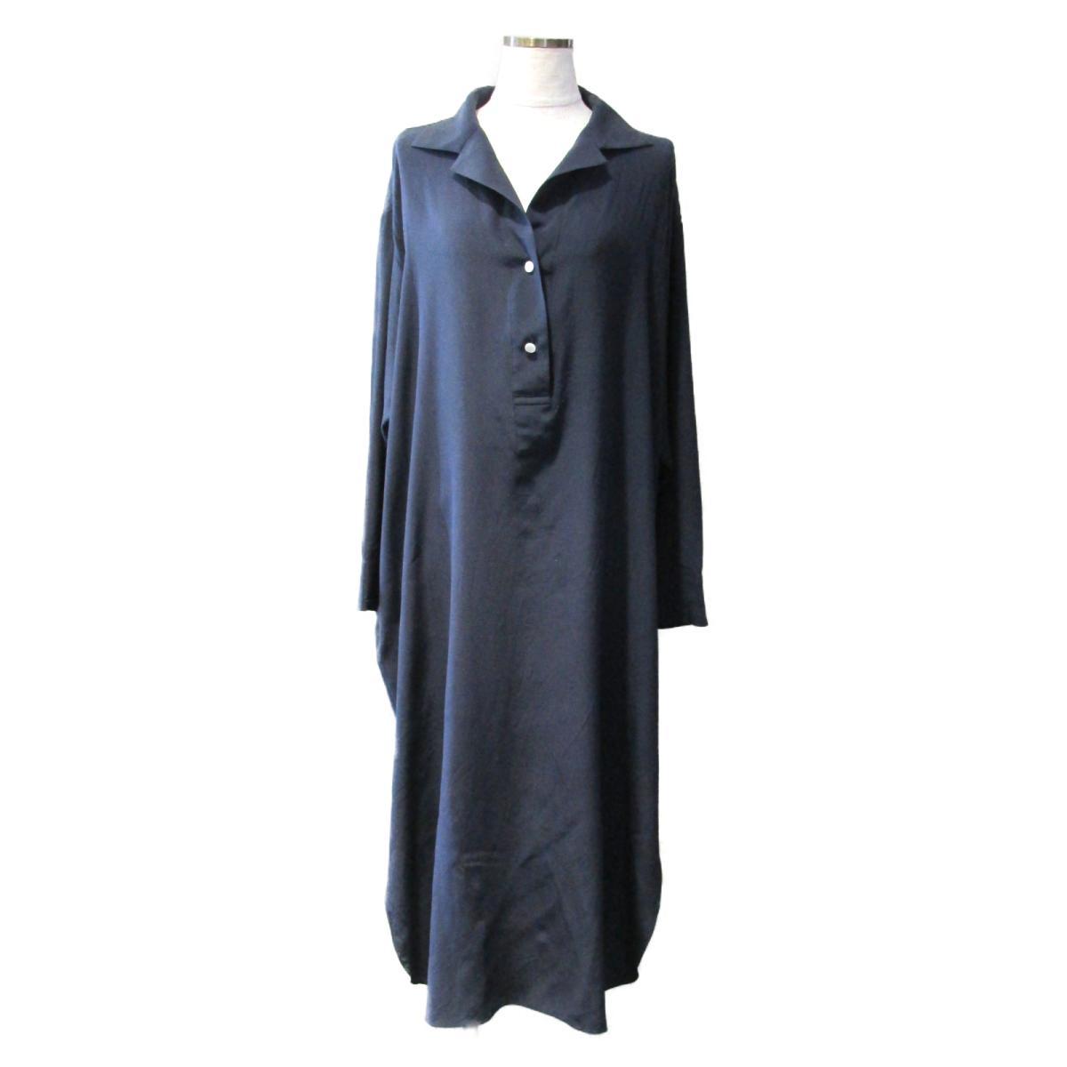 【中古】 セレクション THE ROW ワンピース レディース シルク シルク100% ネイビー | SELECTION BRANDOFF ブランドオフ 衣料品 衣類 ブランド