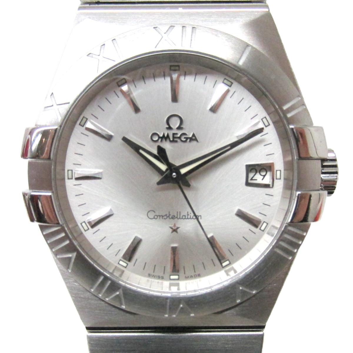 ≪期間限定≫メルマガ登録でクーポンGET! 【中古】 オメガ コンステレーション 腕時計 ウォッチ メンズ ステンレススチール (SS) (123.10.35.60.02.001) | OMEGA BRANDOFF ブランドオフ ブランド ブランド時計 ブランド腕時計 時計
