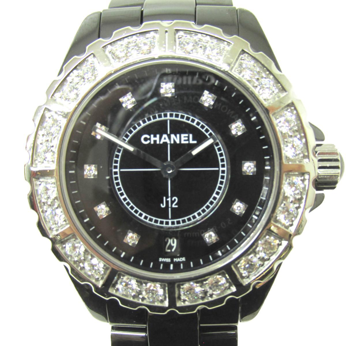 ≪期間限定≫メルマガ登録でクーポンGET! 【中古】 シャネル J12 腕時計 ウォッチ メンズ セラミック ダイヤモンド | CHANEL BRANDOFF ブランドオフ ブランド ブランド時計 ブランド腕時計 時計