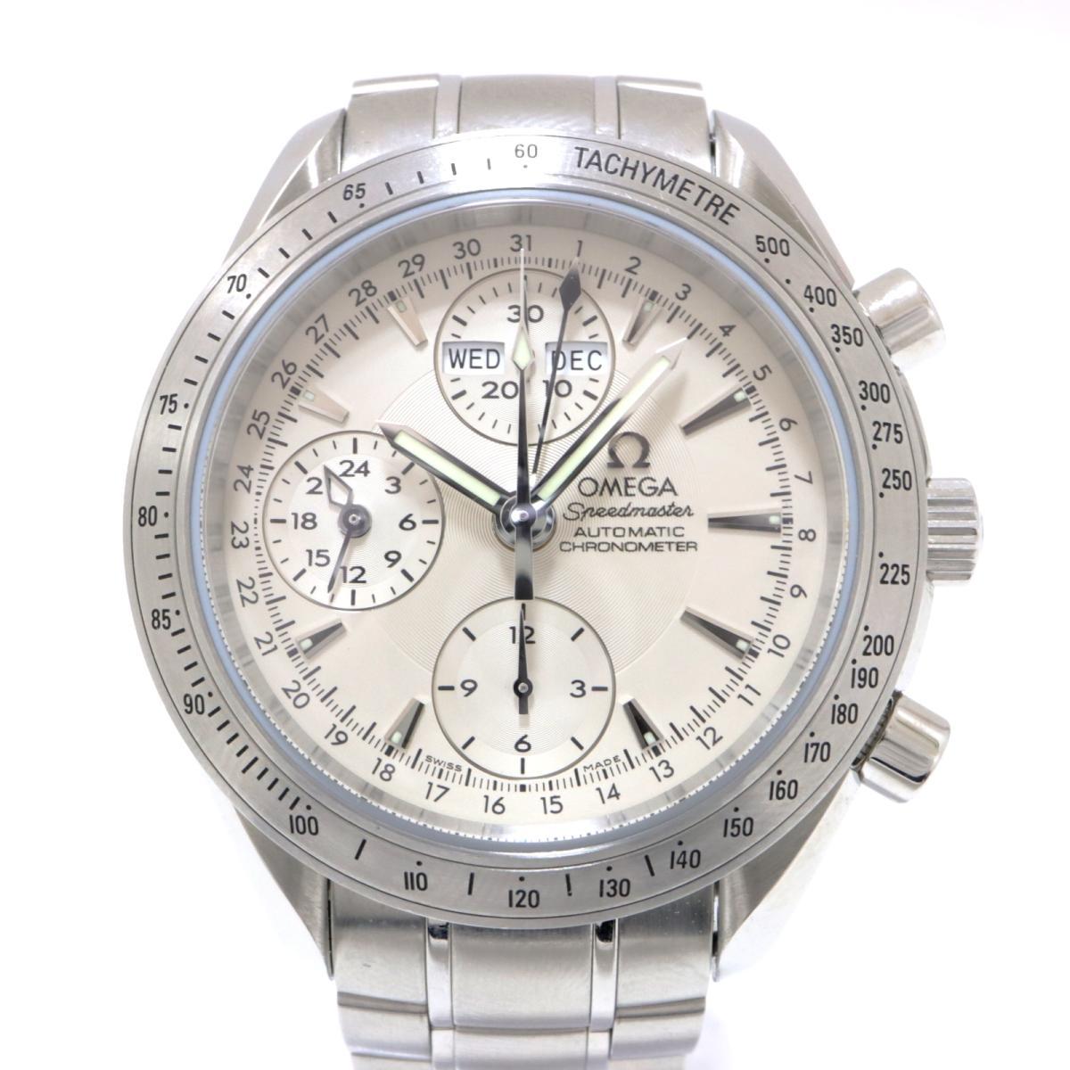 【中古】 オメガ スピードマスター デイデイト 腕時計 メンズ ステンレススチール (SS) シルバー (3221.30) | OMEGA BRANDOFF ブランドオフ ブランド ブランド時計 ブランド腕時計 時計 ウォッチ