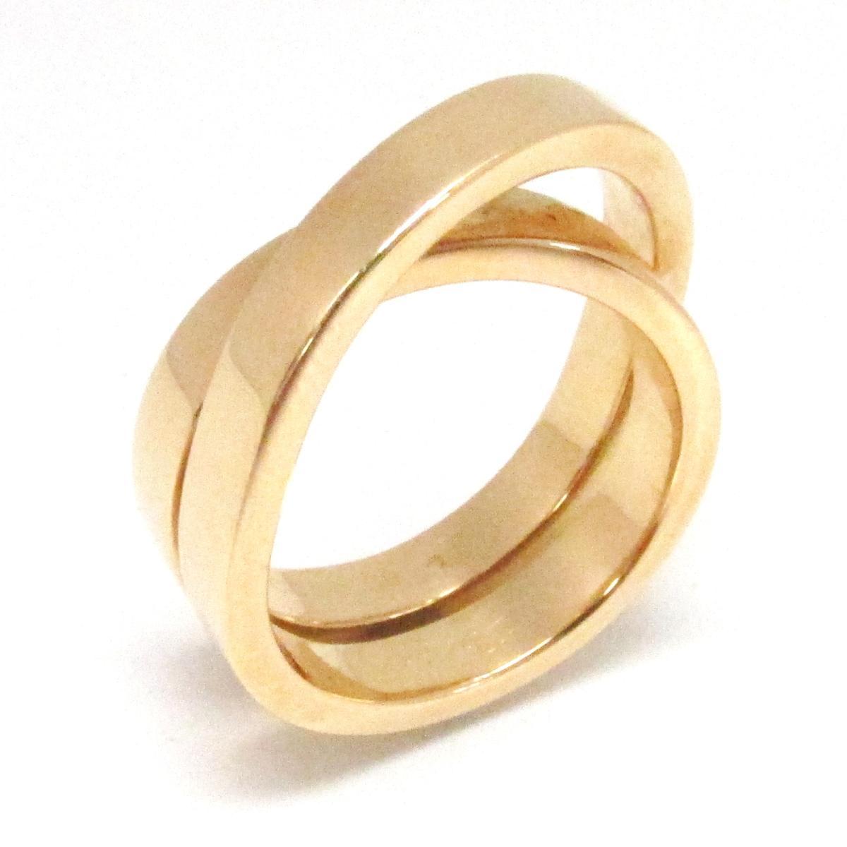 【中古】 カルティエ リング 指輪 レディース K18PG (750) ピンクゴールド | Cartier BRANDOFF ブランドオフ ブランド ジュエリー アクセサリー