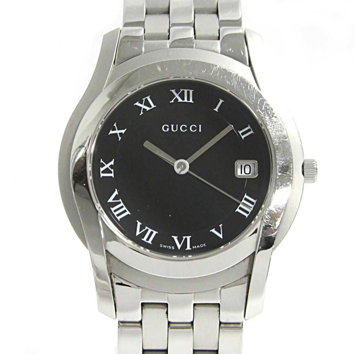 ≪期間限定≫メルマガ登録でクーポンGET! 【中古】 グッチ ウォッチ 腕時計 メンズ ステンレススチール (SS) (5500M) | GUCCI BRANDOFF ブランドオフ ブランド ブランド時計 ブランド腕時計 時計