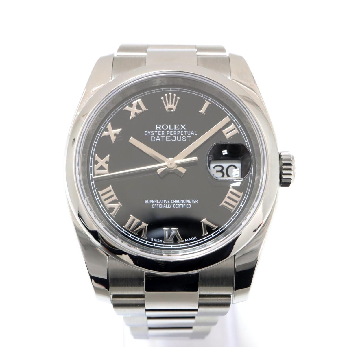 【中古】 ロレックス デイトジャスト 腕時計 メンズ K18WG (750)ホワイトゴールド SS シルバー (116200) | ROLEX BRANDOFF ブランドオフ ブランド ブランド時計 ブランド腕時計 時計 ウォッチ