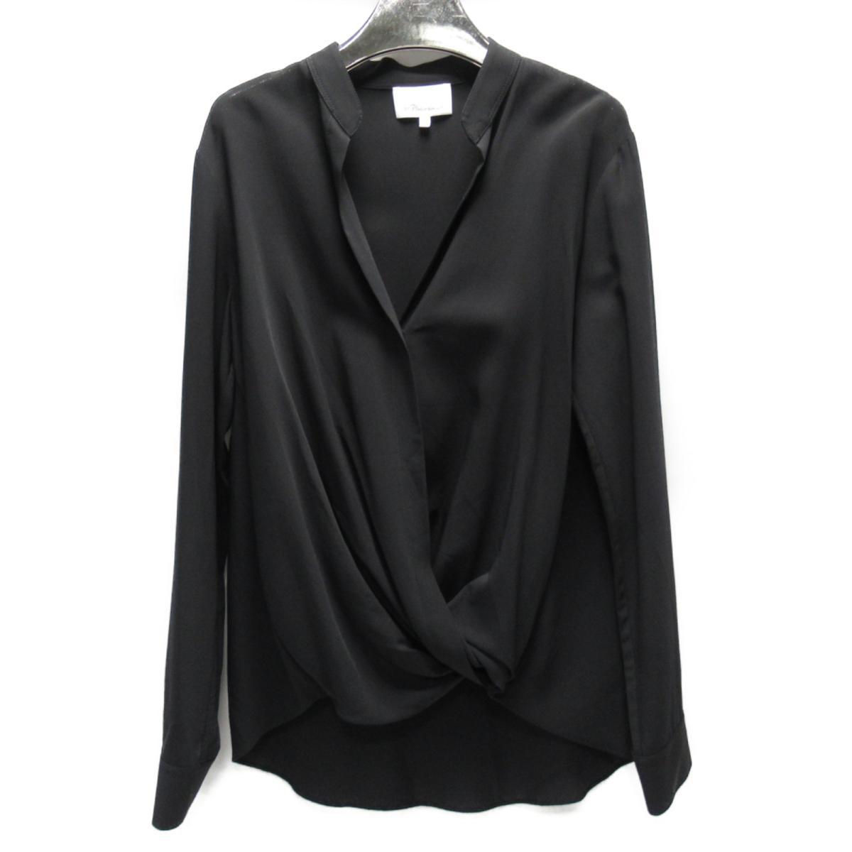 【中古】 3.1フィリップリム トップス レディース レーヨン (99%) ポリウレタン (1%) ブラック | 3.1 Phillip Lim BRANDOFF ブランドオフ 衣料品 衣類 ブランド