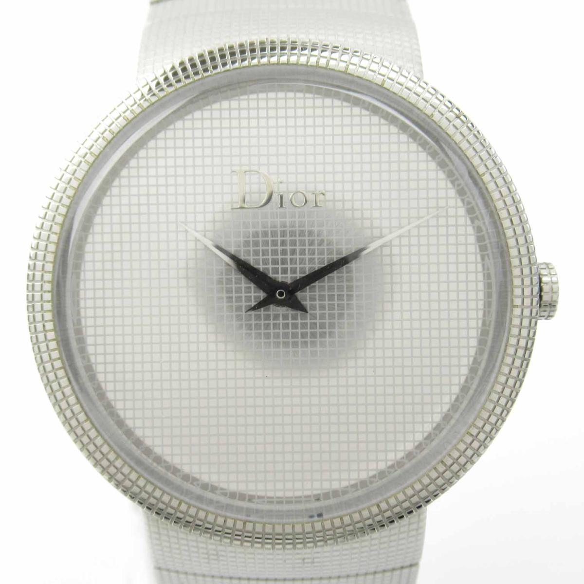 ≪期間限定≫メルマガ登録でクーポンGET! 【中古】 クリスチャン・ディオール ミラー ウォッチ 腕時計 レディース ステンレススチール (SS) (CD043110M001)   Dior BRANDOFF ブランドオフ ブランド ブランド時計 ブランド腕時計 時計