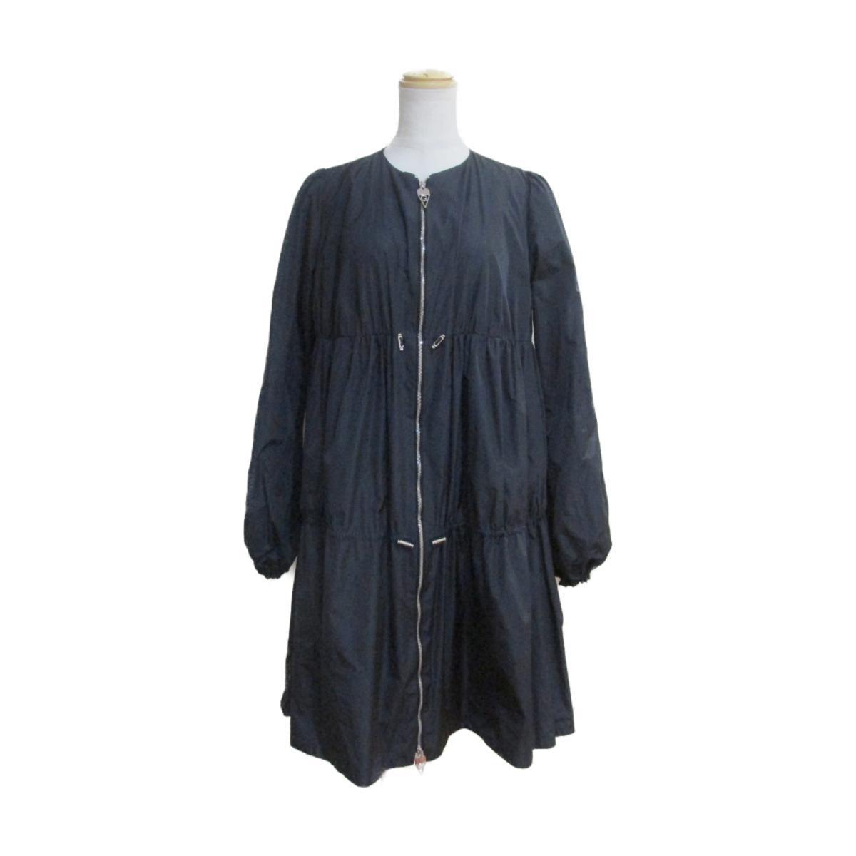 【中古】 ジャンバティスタ・ヴァリ コート レディース 100%ポリエステル ブラック | GIAMBATTISTA VALLI BRANDOFF ブランドオフ 衣料品 衣類 ブランド アウター ジャケット