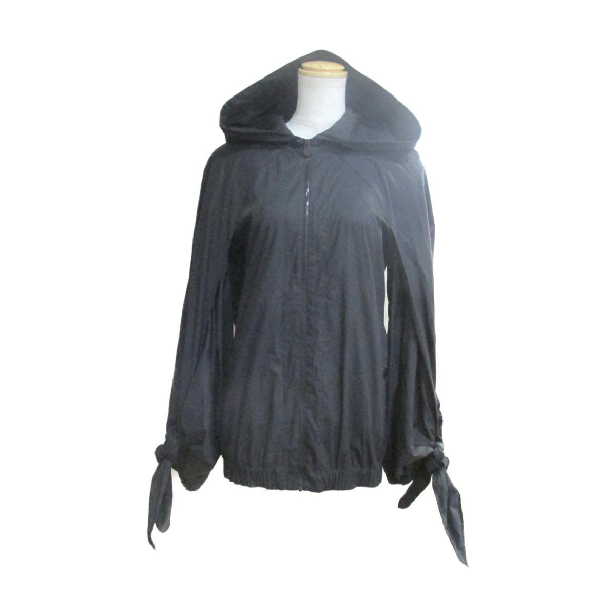【中古】 シャネル ブルゾン レディース 78%コットン x 19%ナイロン 3%ポリウレタン ブラック (P50941V37652) | CHANEL BRANDOFF ブランドオフ 衣料品 衣類 ブランド アウター ジャケット コート