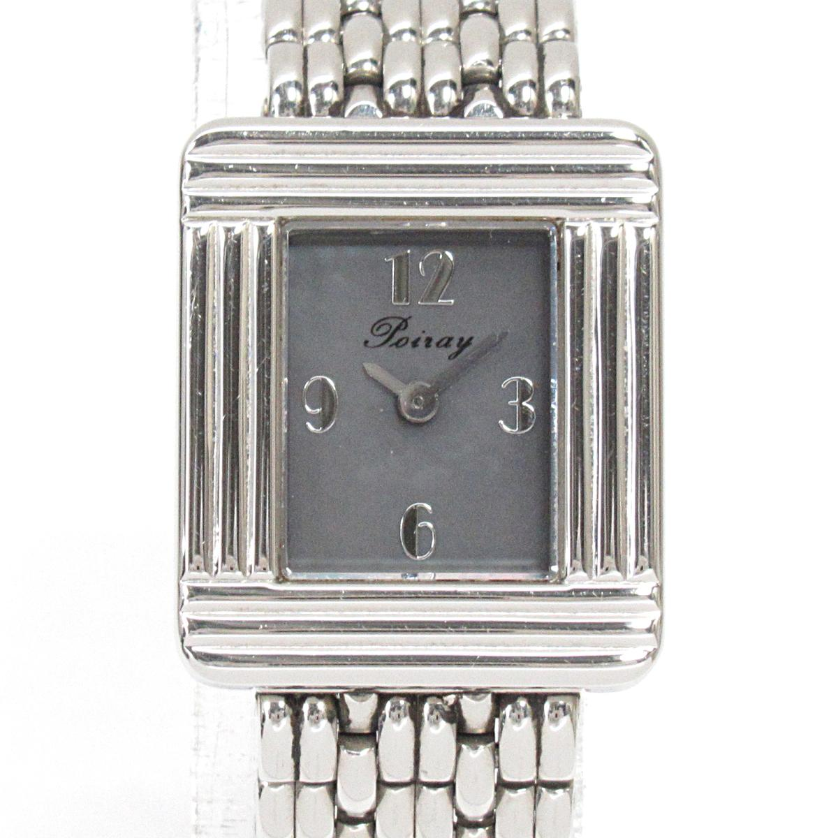 【中古】 セレクション Poiray マ・プルミエ 腕時計 ウォッチ レディース ステンレススチール (SS) | SELECTION BRANDOFF ブランドオフ ブランド ブランド時計 ブランド腕時計 時計