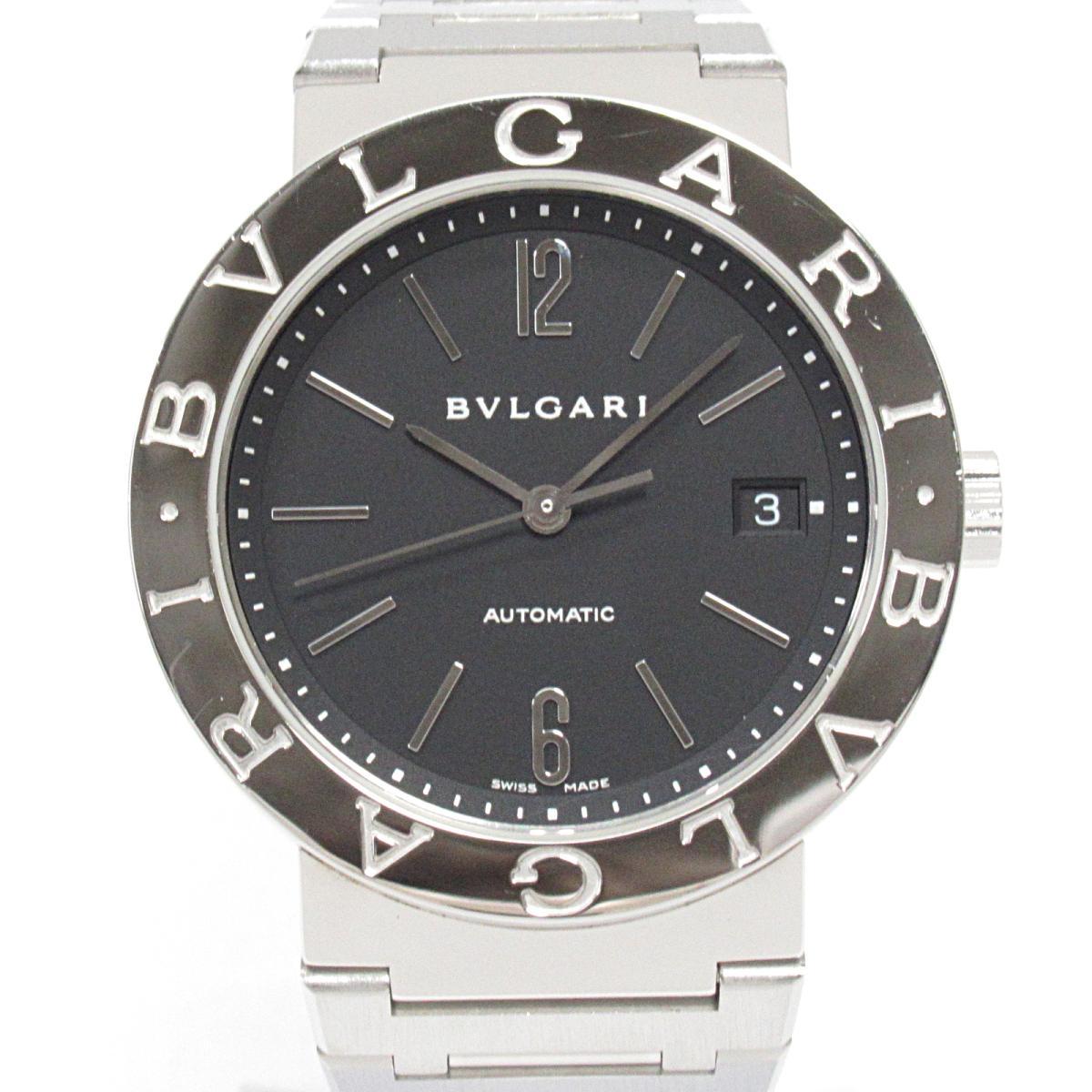 ≪期間限定≫メルマガ登録でクーポンGET! 【中古】 ブルガリ ブルガリブルガリ 腕時計 ウォッチ メンズ ステンレススチール (SS) (BB38SS)   BVLGARI BRANDOFF ブランドオフ ブランド ブランド時計 ブランド腕時計 時計