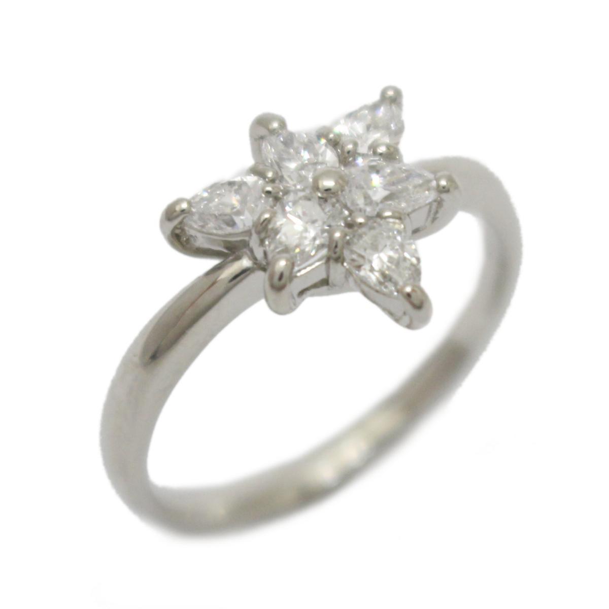 【中古】 ジュエリー ダイヤモンド リング 指輪 レディース PT900 プラチナ x (0.67ct) | JEWELRY BRANDOFF ブランドオフ ブランド アクセサリー
