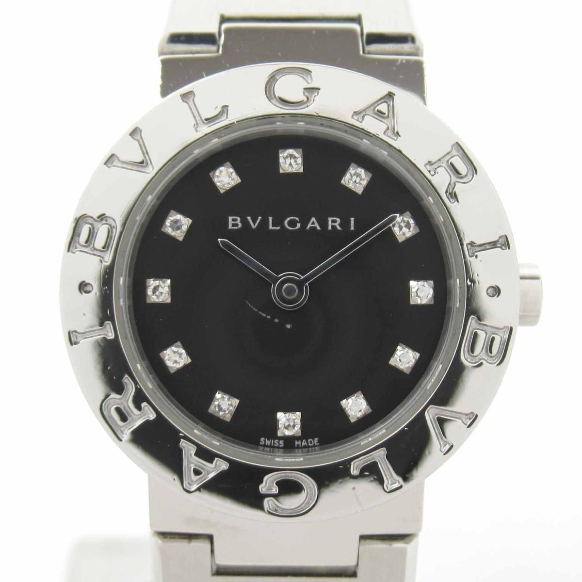 ≪期間限定≫メルマガ登録でクーポンGET! 【中古】 ブルガリ 12Pダイヤ ウォッチ 腕時計 レディース ステンレススチール (SS) (BB23SS) | BVLGARI BRANDOFF ブランドオフ ブランド ブランド時計 ブランド腕時計 時計