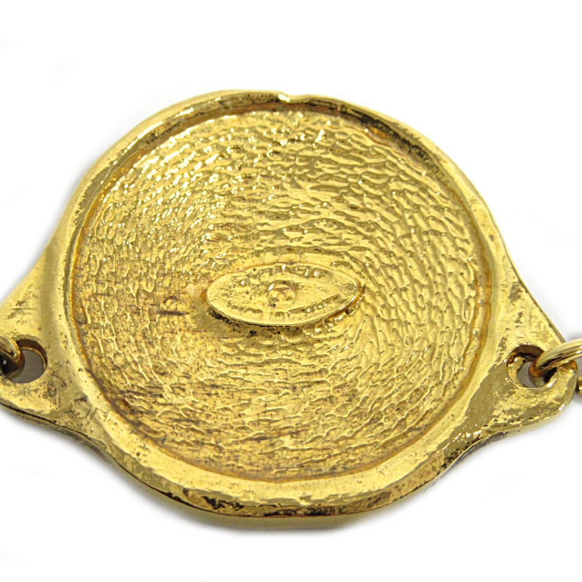 シャネル コイン型チョーカー ヴィンテージ カンボンコインネックレス レディース GP 金属素材 ゴールドCHANEL BRANDOFF ブランドオフ ブランド アクセサリー ネックレス ペンダントfIY7mvb6yg
