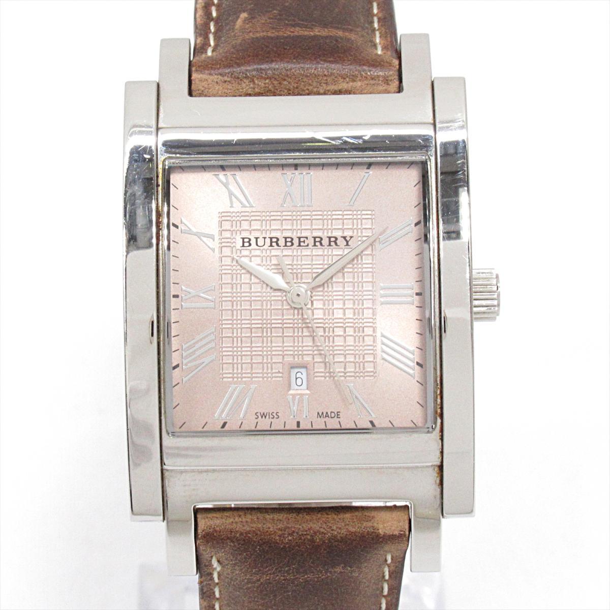 ≪期間限定≫メルマガ登録でクーポンGET! 【中古】 バーバリー ヘリテージ 腕時計 ウォッチ メンズ ステンレススチール (SS) レザーベルト (BU1553) | BURBERRY BRANDOFF ブランドオフ ブランド ブランド時計 ブランド腕時計 時計