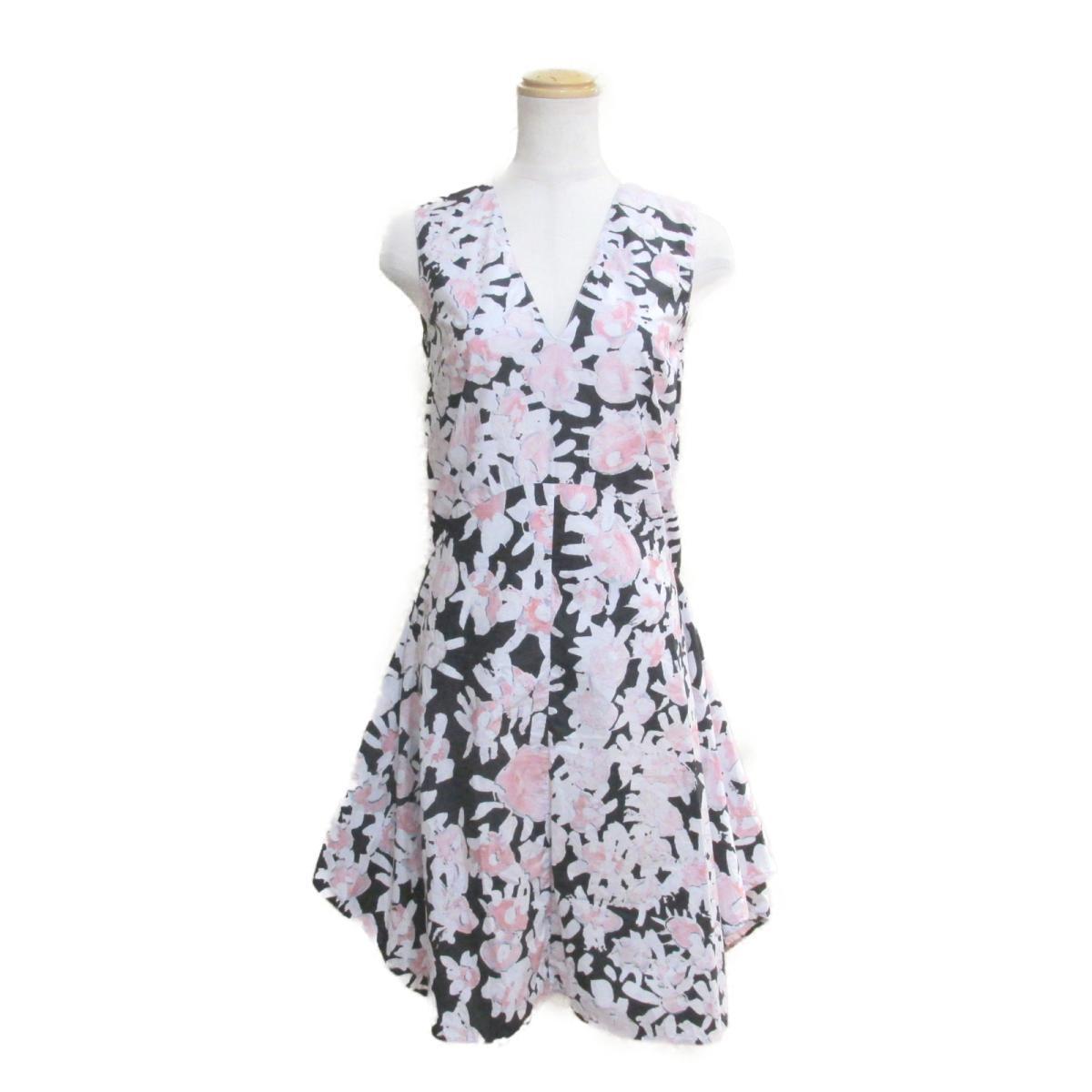【中古】 マルニ ワンピース レディース コットン ピンク x ホワイト ブラック   MARNI BRANDOFF ブランドオフ 衣料品 衣類 ブランド