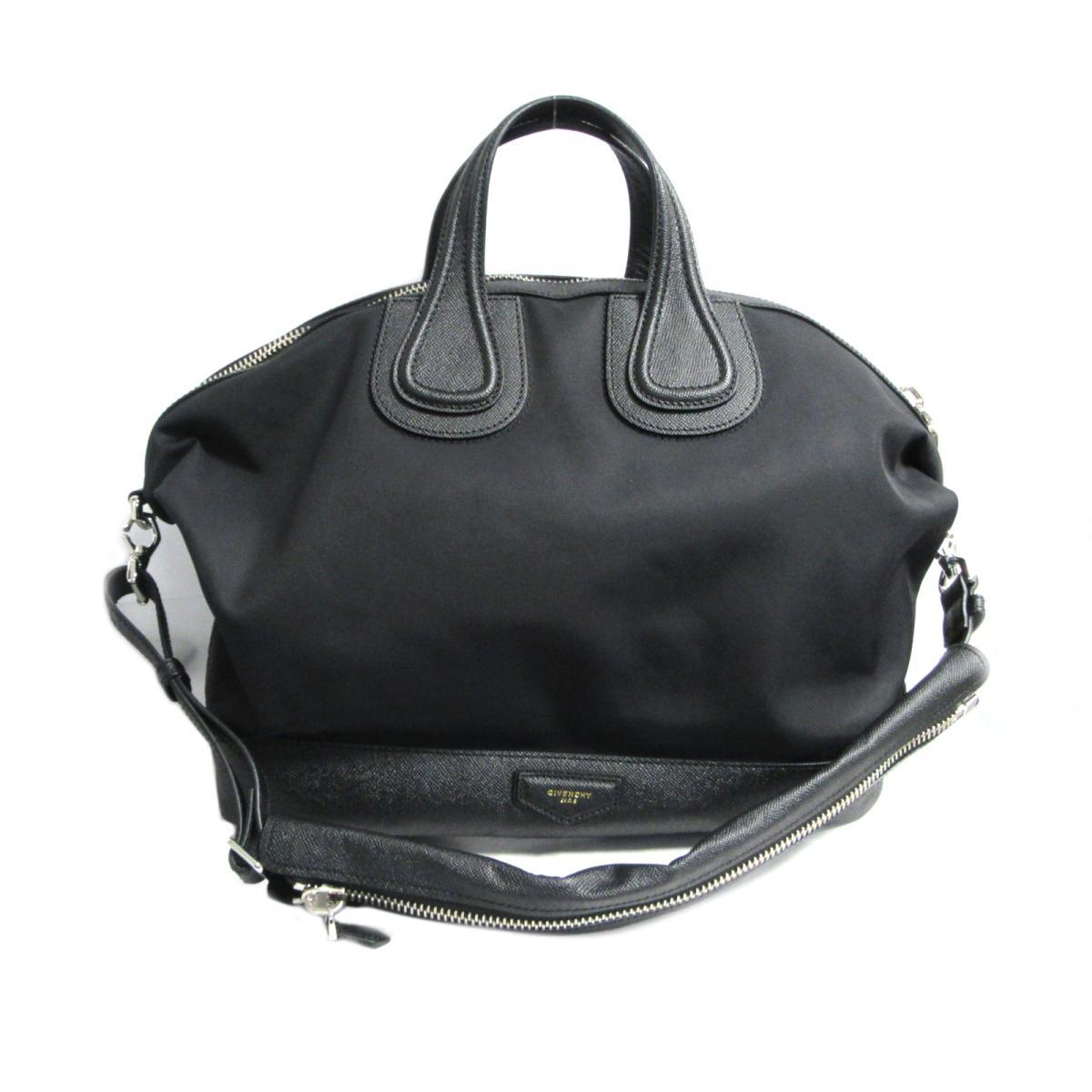 【中古】 ジバンシー ナイチンゲール 2wayショルダーバッグ メンズ レディース ナイロン ブラック | GIVENCHY BRANDOFF ブランドオフ ブランド ブランドバッグ バッグ バック ショルダーバッグ
