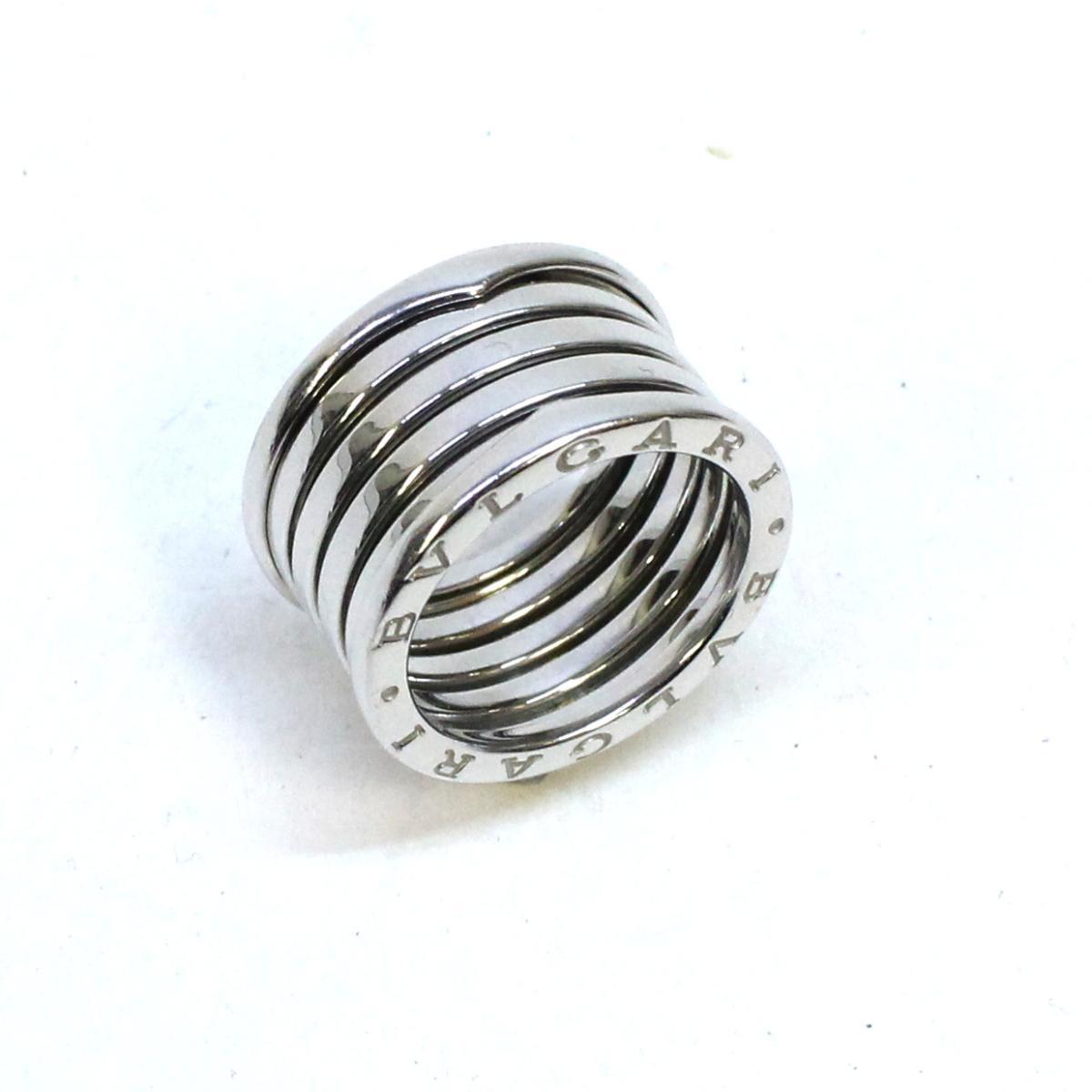 【中古】 ブルガリ B-zero1 リング L レディース K18WG (750) ホワイトゴールド シルバー | BVLGARI BRANDOFF ブランドオフ ブランド ジュエリー アクセサリー 指輪