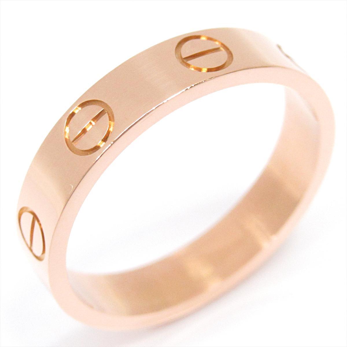 【中古】 カルティエ ミニラブリング 指輪 メンズ レディース K18PG (750) ピンクゴールド (B4085249) | Cartier BRANDOFF ブランドオフ ブランド ジュエリー アクセサリー リング