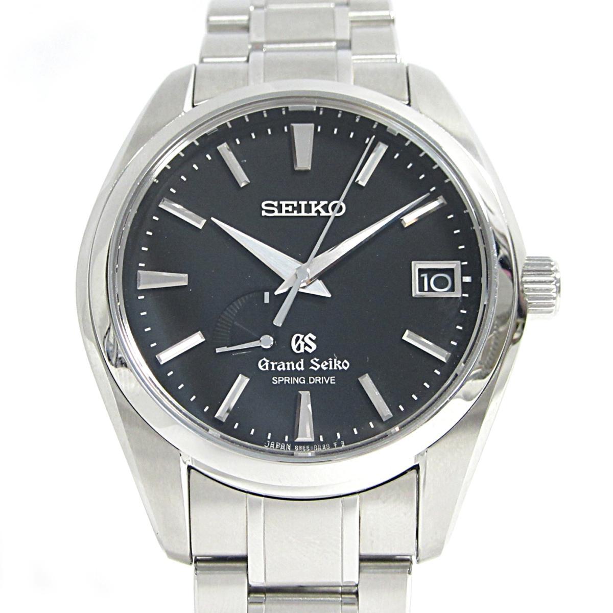 【中古】 セイコー GS グランドセイコー スプリングドライブ パワーリザーブ 腕時計 ウォッチ メンズ ステンレススチール (SS) (SBGA003) | SEIKO BRANDOFF ブランドオフ レディース ブランド ブランド時計 ブランド腕時計 時計