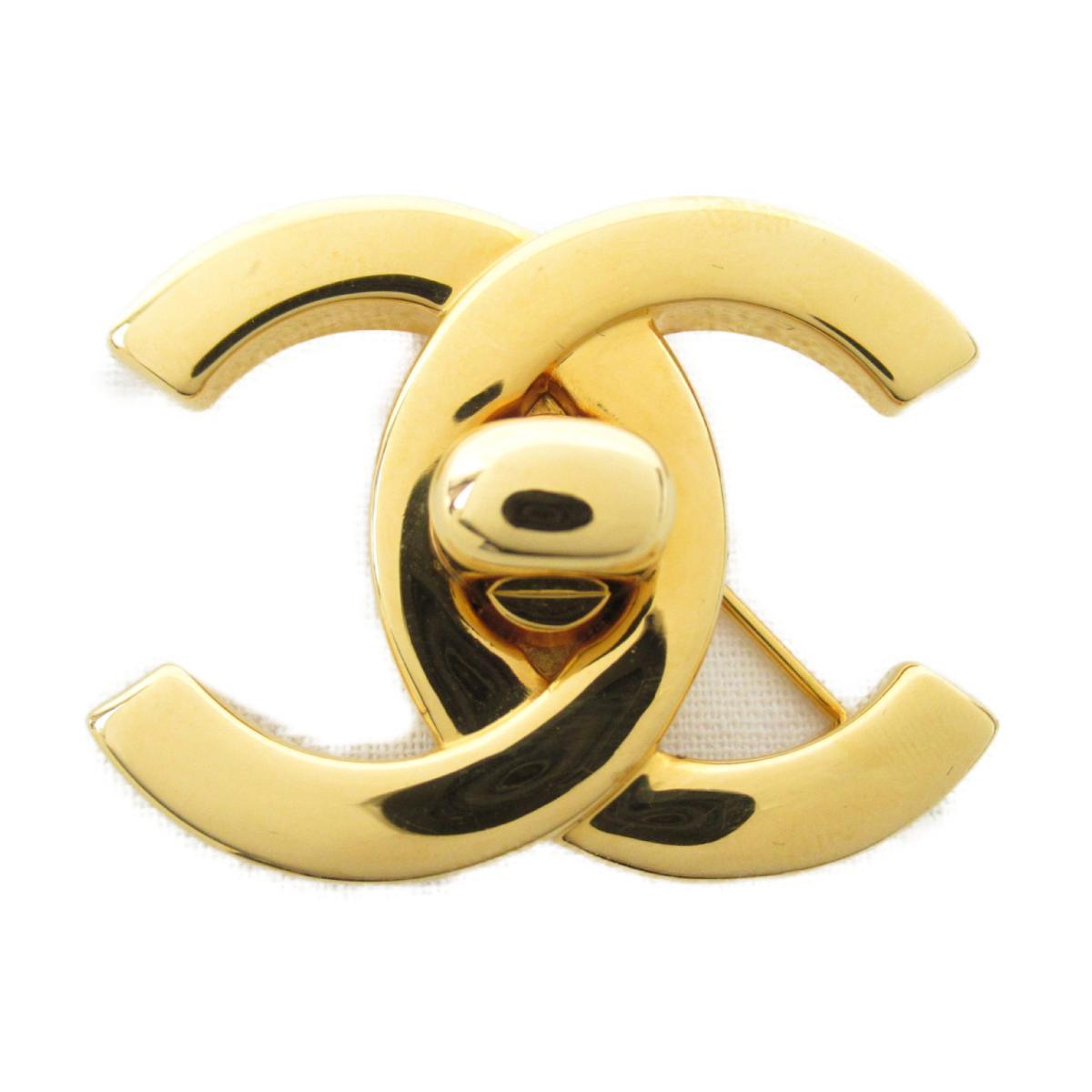 【中古】 シャネル ココマーク ブローチ 96P レディース GP (ゴールドメッキ) ゴールド   CHANEL BRANDOFF ブランドオフ ブランド ジュエリー アクセサリー