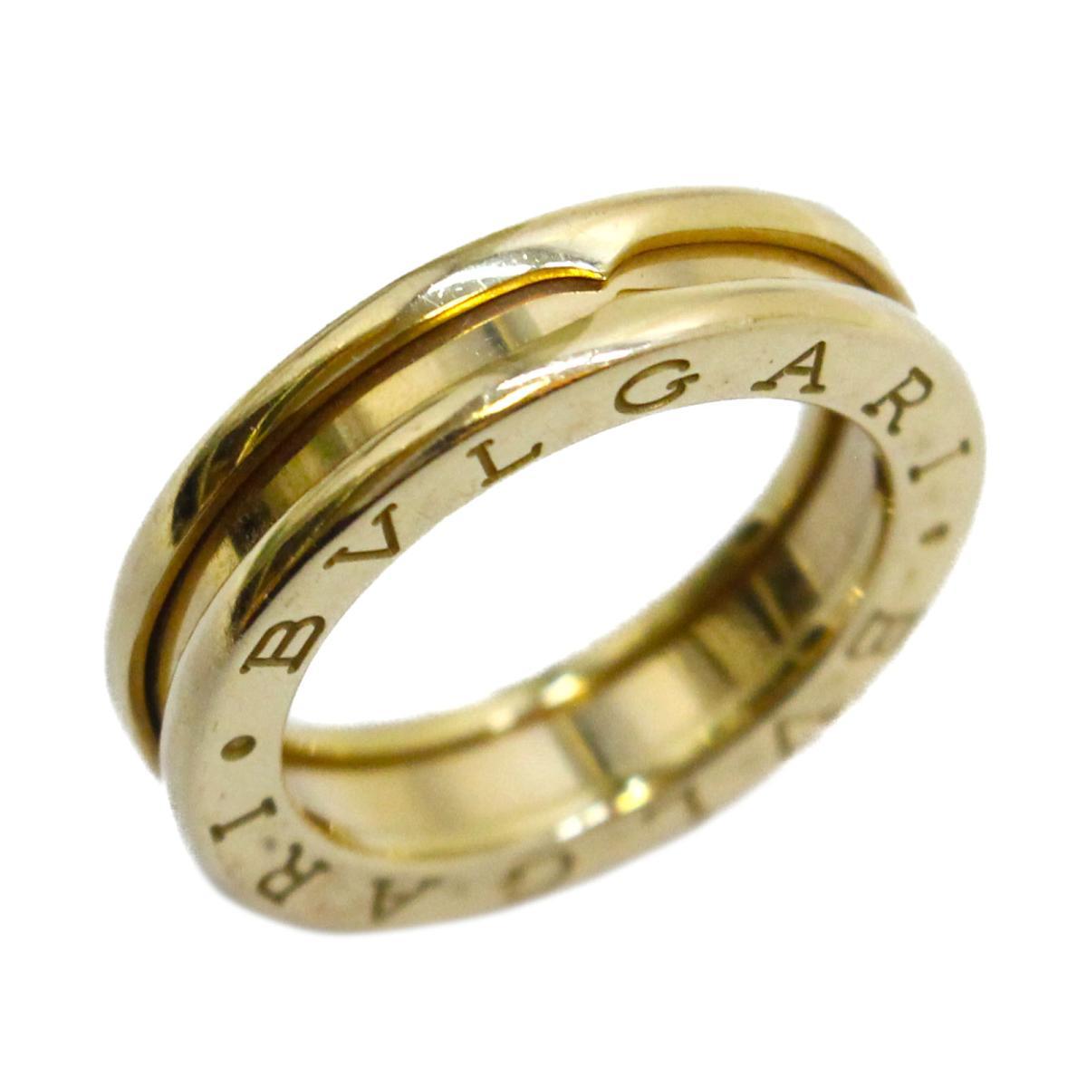 【中古】 ブルガリ B-zero1 リング 指輪 レディース K18YG (750) イエローゴールド | BVLGARI BRANDOFF ブランドオフ ブランド ジュエリー アクセサリー