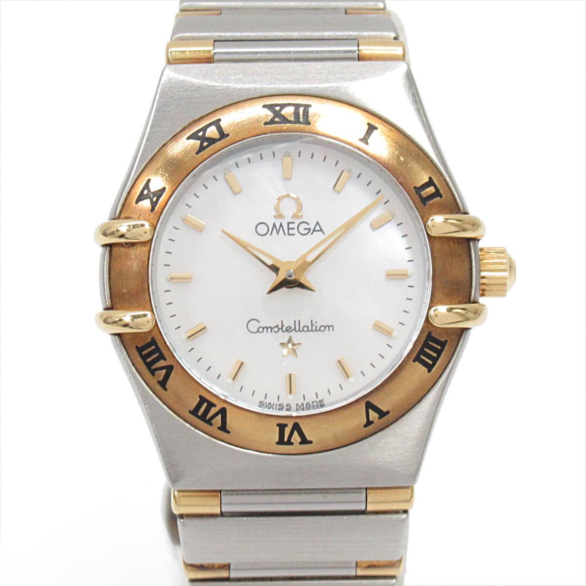 【中古】 オメガ コンステレーション ミニ 腕時計 ウォッチ レディース ステンレススチール (SS) K18YG (イエローゴールド) (1262.70) | OMEGA BRANDOFF ブランドオフ ブランド ブランド時計 ブランド腕時計 時計