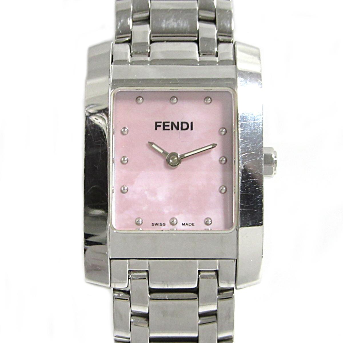 ≪期間限定≫メルマガ登録でクーポンGET! 【中古】 フェンディ クラシコ 腕時計 ウォッチ レディース ステンレススチール (SS) (104-7000L-078) | FENDI BRANDOFF ブランドオフ ブランド ブランド時計 ブランド腕時計 時計