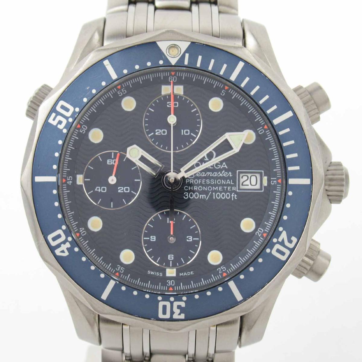 【中古】 オメガ シーマスター プロフェッショナル ウォッチ 腕時計 メンズ チタン (2298.80) | OMEGA BRANDOFF ブランドオフ ブランド ブランド時計 ブランド腕時計 時計