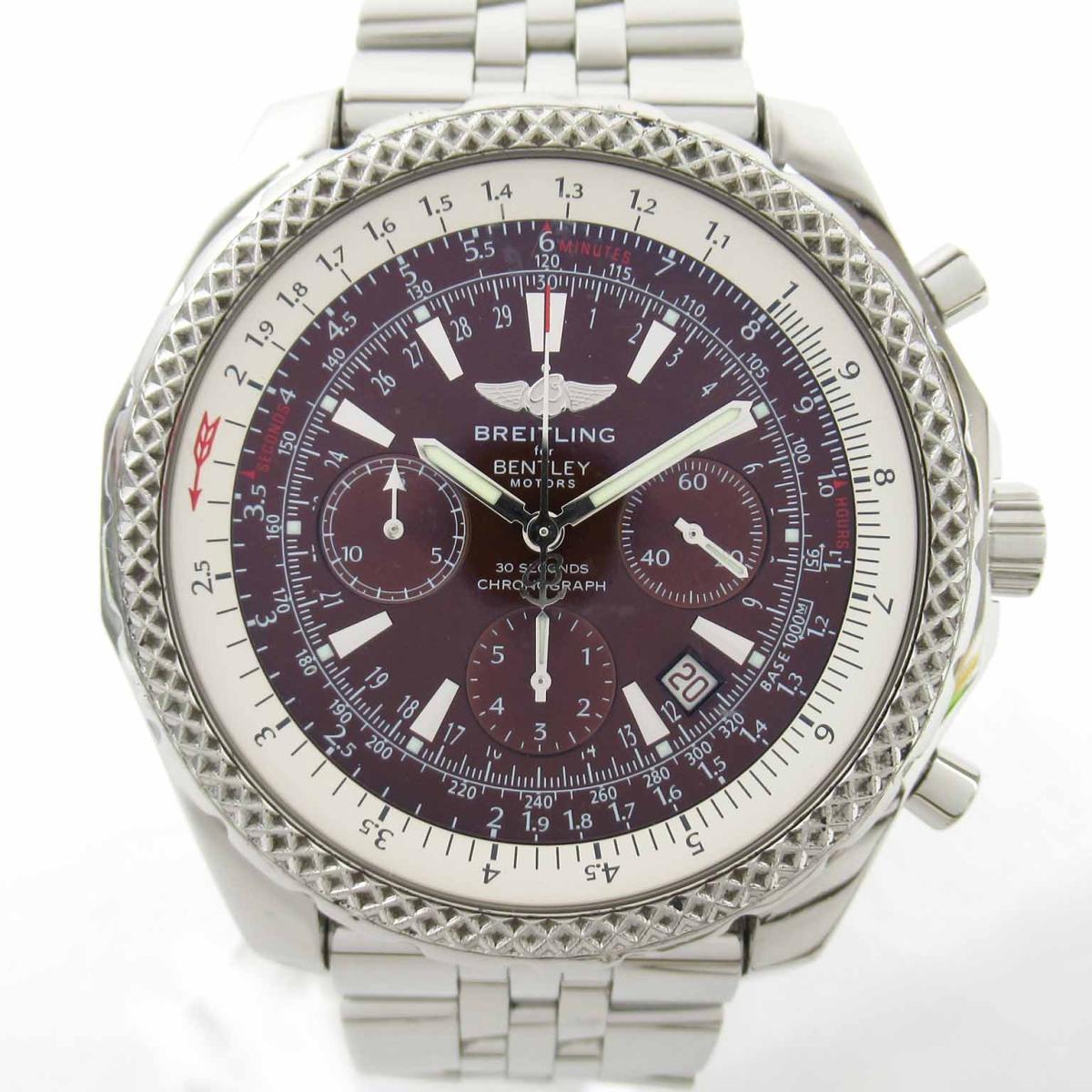 ≪期間限定≫メルマガ登録でクーポンGET! 【中古】 ブライトリング ベントレー ウォッチ 腕時計 メンズ ステンレススチール (SS) (A25362) | BREITLING BRANDOFF ブランドオフ ブランド ブランド時計 ブランド腕時計 時計