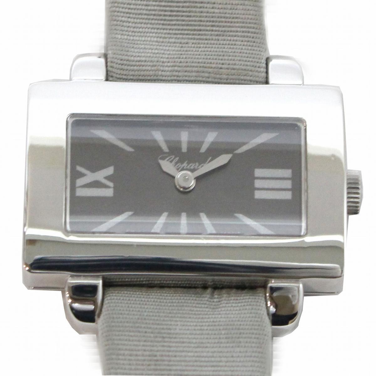【中古】 ショパール 時計 腕時計 レディース ステンレススチール (SS) シルバー | Chopard BRANDOFF ブランドオフ ブランド ブランド時計 ブランド腕時計 ウォッチ