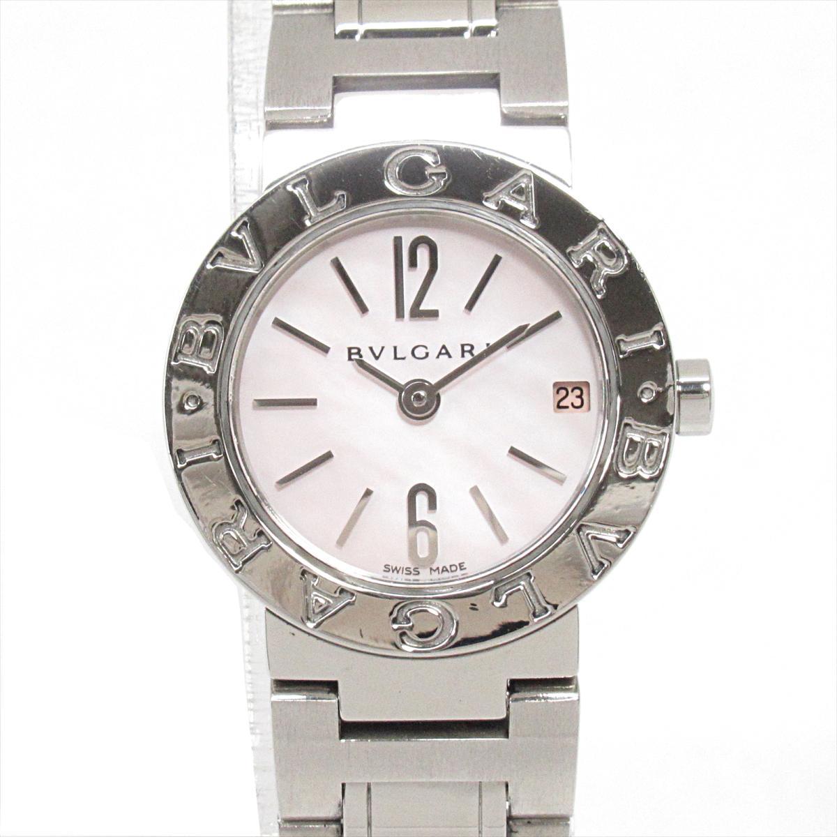 【中古】 ブルガリ ウォッチ 腕時計 レディース ステンレススチール (SS) (BB23SS) | BVLGARI BRANDOFF ブランドオフ ブランド ブランド時計 ブランド腕時計 時計