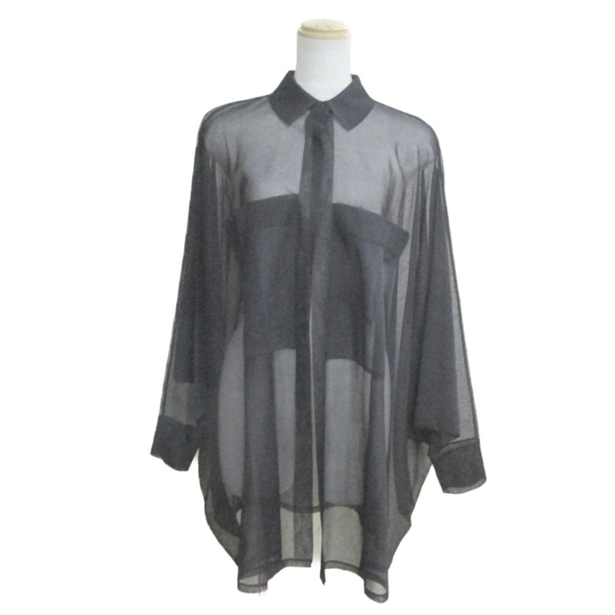 【中古】 アライア ガウン ジャケット レディース シルク100% ブラック | ALAIA BRANDOFF ブランドオフ 衣料品 衣類 ブランド トップス シャツ ブラウス