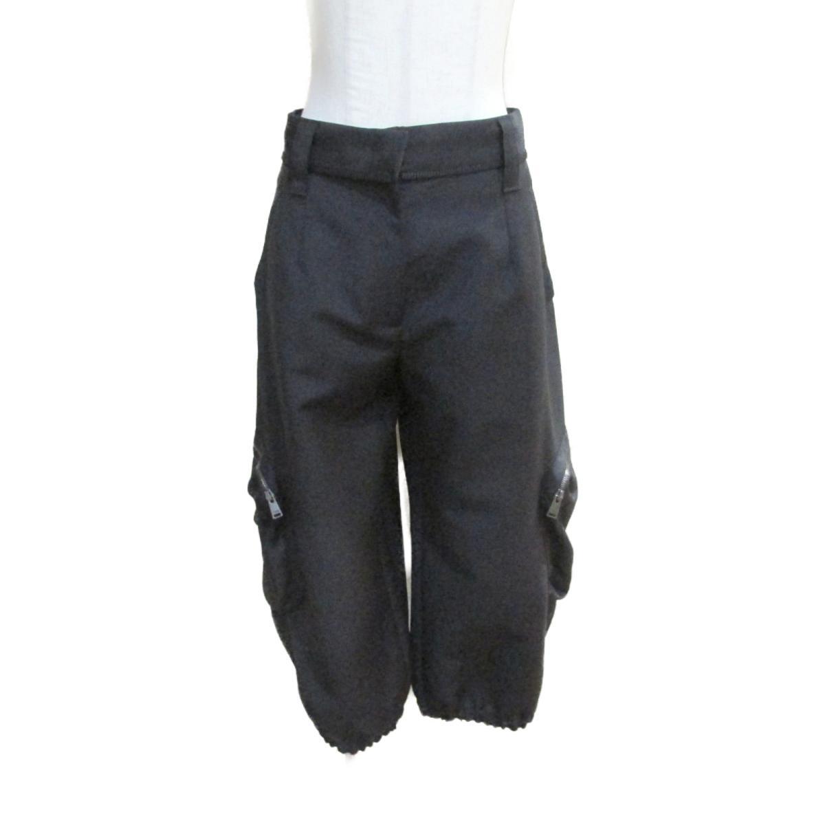 【中古】 フェンディ パンツ レディース モヘヤ (60%) x ウール (40%) ブラック (FR6092-5SC) | FENDI BRANDOFF ブランドオフ 衣料品 衣類 ブランド ボトムス