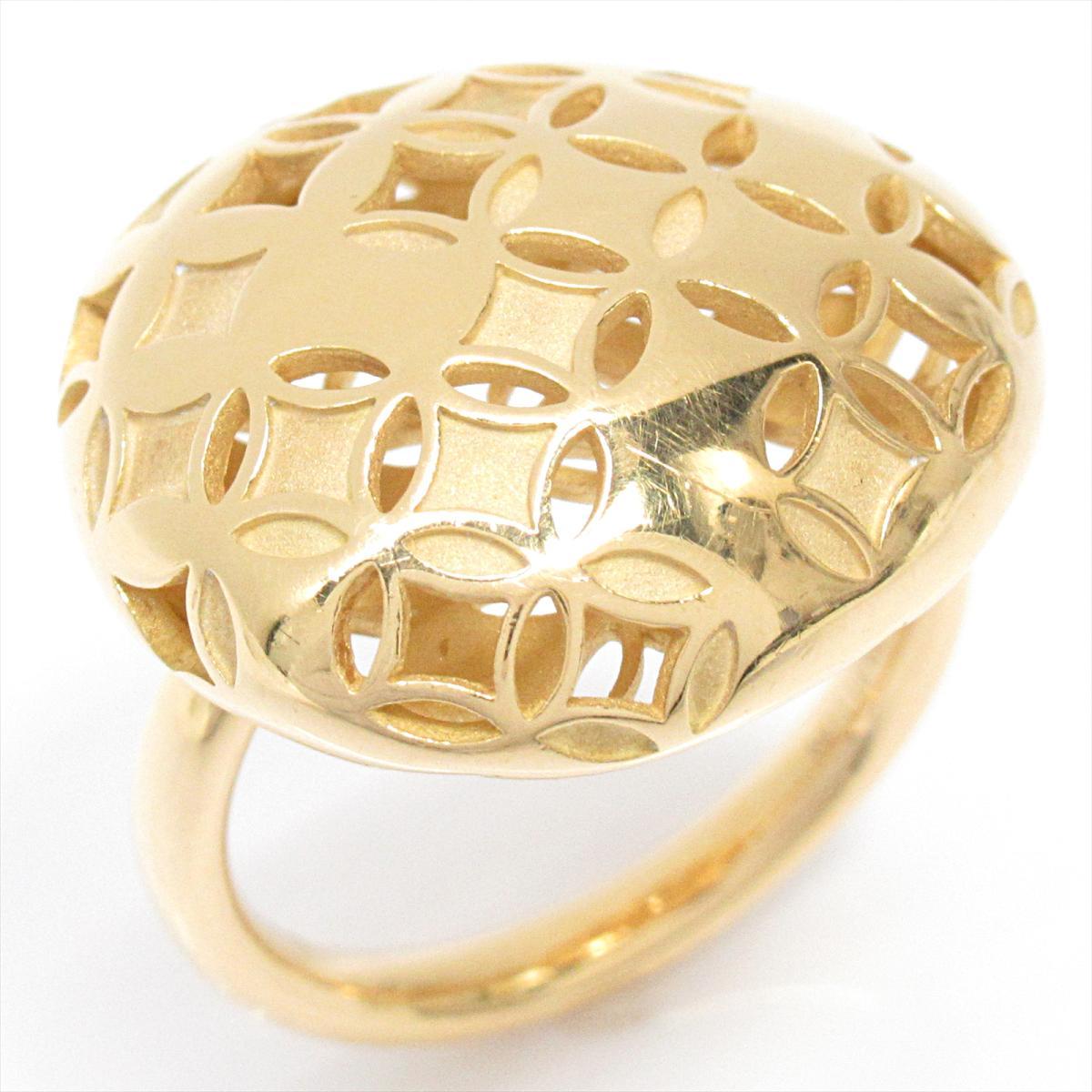 【中古】 ルイヴィトン デザインリング 指輪 レディース K18YG (750) イエローゴールド | LOUIS VUITTON BRANDOFF ブランドオフ ヴィトン ビトン ルイ・ヴィトン ブランド ジュエリー アクセサリー リング