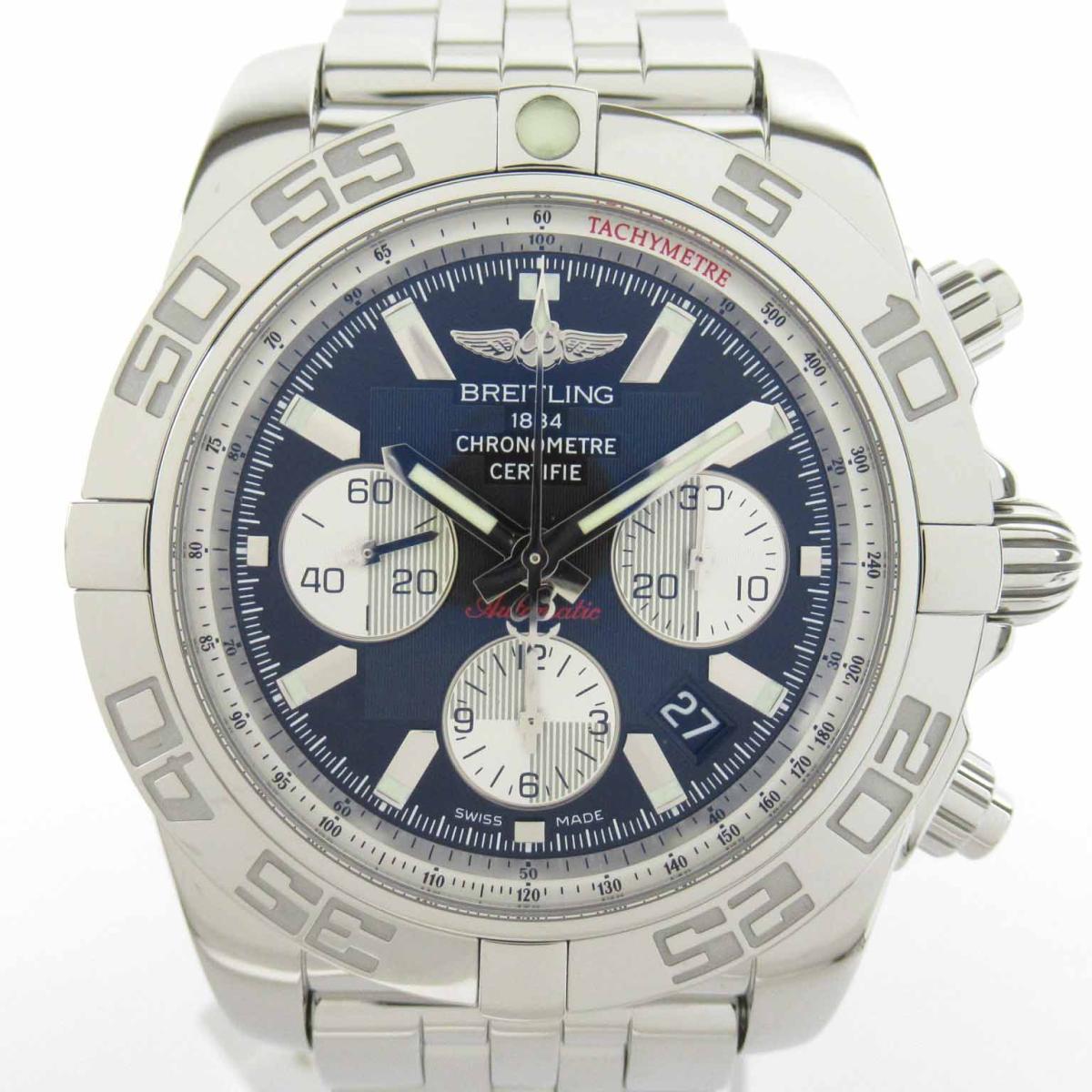 【中古】 ブライトリング クロノマット44 ウォッチ 腕時計 メンズ ステンレススチール (SS) (AB011012) | BREITLING BRANDOFF ブランドオフ ブランド ブランド時計 ブランド腕時計 時計