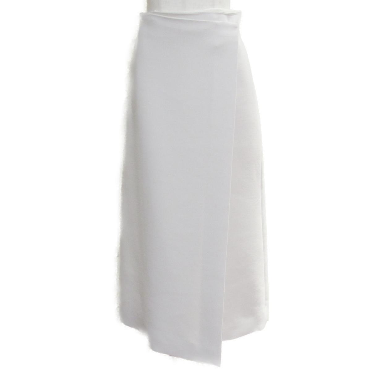 【中古】 ザ・ロー 2019 ロングスカート レディース 77%ウール シルク アイボリー   THE ROW BRANDOFF ブランドオフ ブランド ボトムス スカート