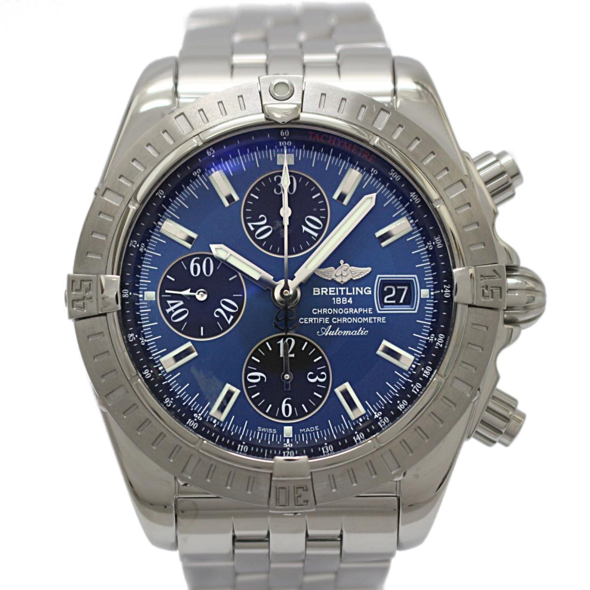 ≪期間限定≫メルマガ登録でクーポンGET! 【中古】 ブライトリング クロノマット エヴォリューション メンズ ウォッチ 腕時計 ステンレススチール (SS) (A156C05PA) | BREITLING BRANDOFF ブランドオフ ブランド ブランド時計 ブランド腕時計 時計
