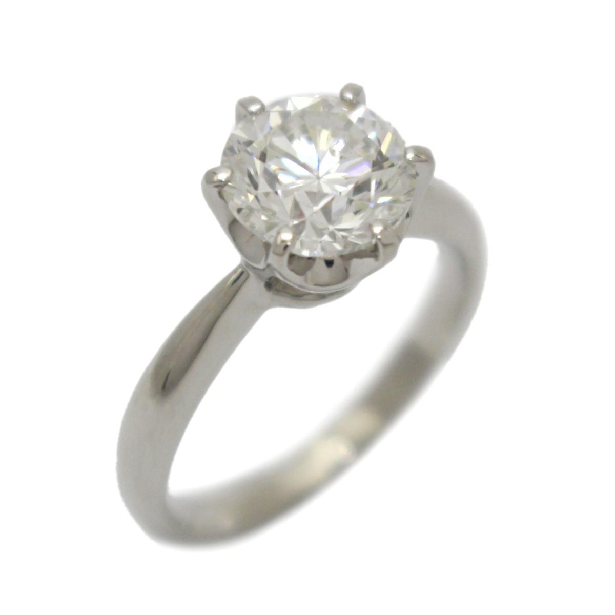 【中古】 ジュエリー ダイヤモンド リング 指輪 レディース PT900 プラチナ x 2.010ct | JEWELRY BRANDOFF ブランドオフ ブランド アクセサリー