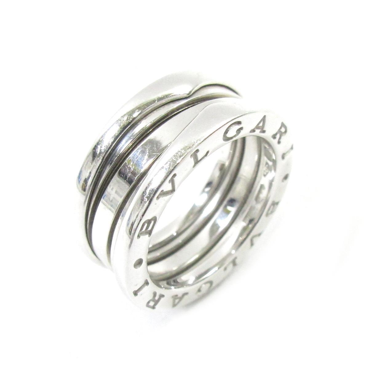 【中古】 ブルガリ B-zero1 リング 指輪 レディース K18WG (750) ホワイトゴールド シルバー   BVLGARI BRANDOFF ブランドオフ ブランド ジュエリー アクセサリー