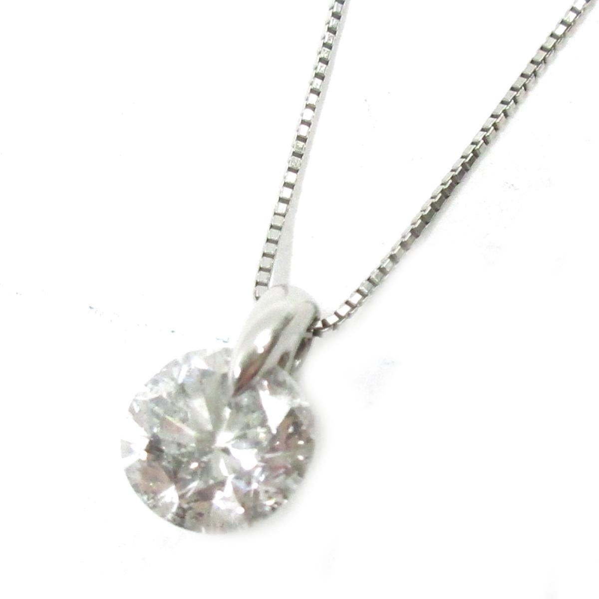 【中古】 ジュエリー ダイヤモンドネックレス レディース PT900 プラチナPT850 x ダイヤモンド2.051ct シルバー クリアー | JEWELRY BRANDOFF ブランドオフ ブランド アクセサリー ネックレス ペンダント