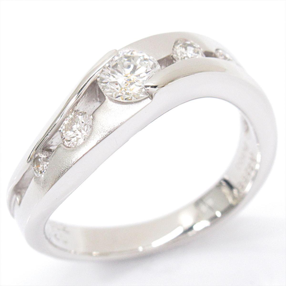 【中古】 ジュエリー ダイヤモンド リング 指輪 レディース PT900 プラチナ x (0.3320.20ct) | JEWELRY BRANDOFF ブランドオフ ブランド アクセサリー