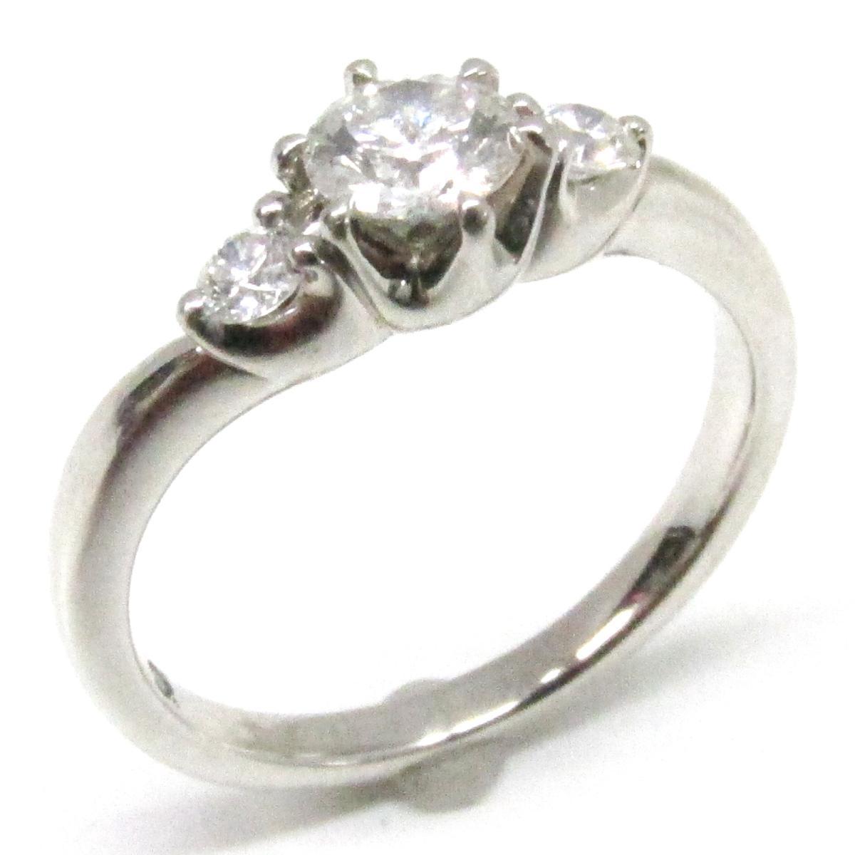 【中古】 ヨンドシー ダイヤモンド リング 指輪 レディース PT995 プラチナ x | 4℃ BRANDOFF ブランドオフ ブランド ジュエリー アクセサリー