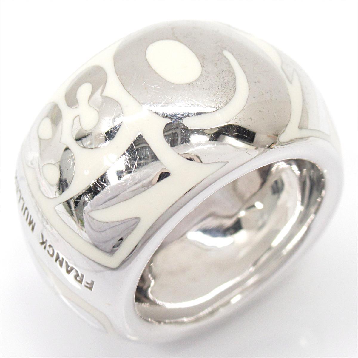 【中古】 フランク・ミュラー タリスマン リング 指輪 メンズ レディース K18WG (750) ホワイトゴールド | FRANCK MULLER BRANDOFF ブランドオフ ジュエリー アクセサリー