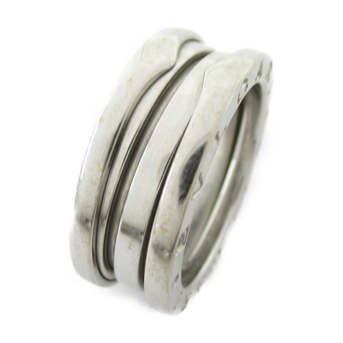 【中古】 ブルガリ B-zero1 リング Sサイズ 指輪 メンズ レディース K18WG (750) ホワイトゴールド | BVLGARI BRANDOFF ブランドオフ ブランド ジュエリー アクセサリー