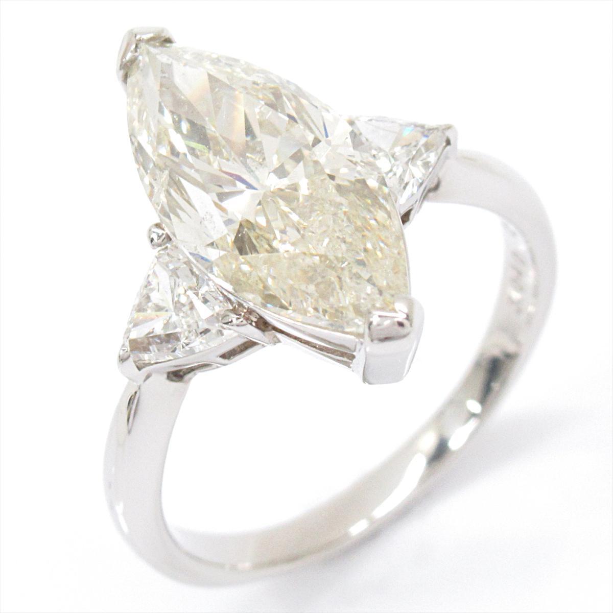 【中古】 ジュエリー ダイヤモンド リング 指輪 レディース PT900 プラチナ x | JEWELRY BRANDOFF ブランドオフ ブランド アクセサリー