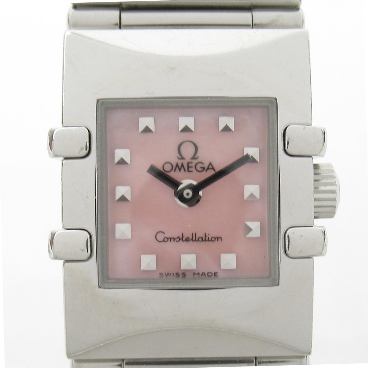 ≪期間限定≫メルマガ登録でクーポンGET! 【中古】 オメガ コンステレーション カレ ウォッチ 腕時計 レディース ステンレススチール (SS) (1531.73)   OMEGA BRANDOFF ブランドオフ ブランド ブランド時計 ブランド腕時計 時計