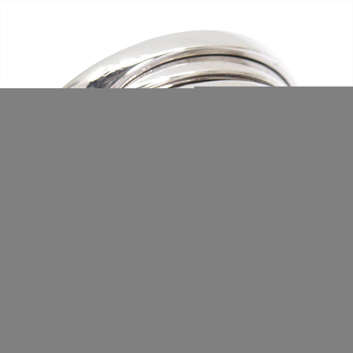 【中古】 ブルガリ B-zero1 リング 指輪 ビーゼロワン メンズ レディース K18WG (750) ホワイトゴールド   BVLGARI BRANDOFF ブランドオフ ブランド ジュエリー アクセサリー