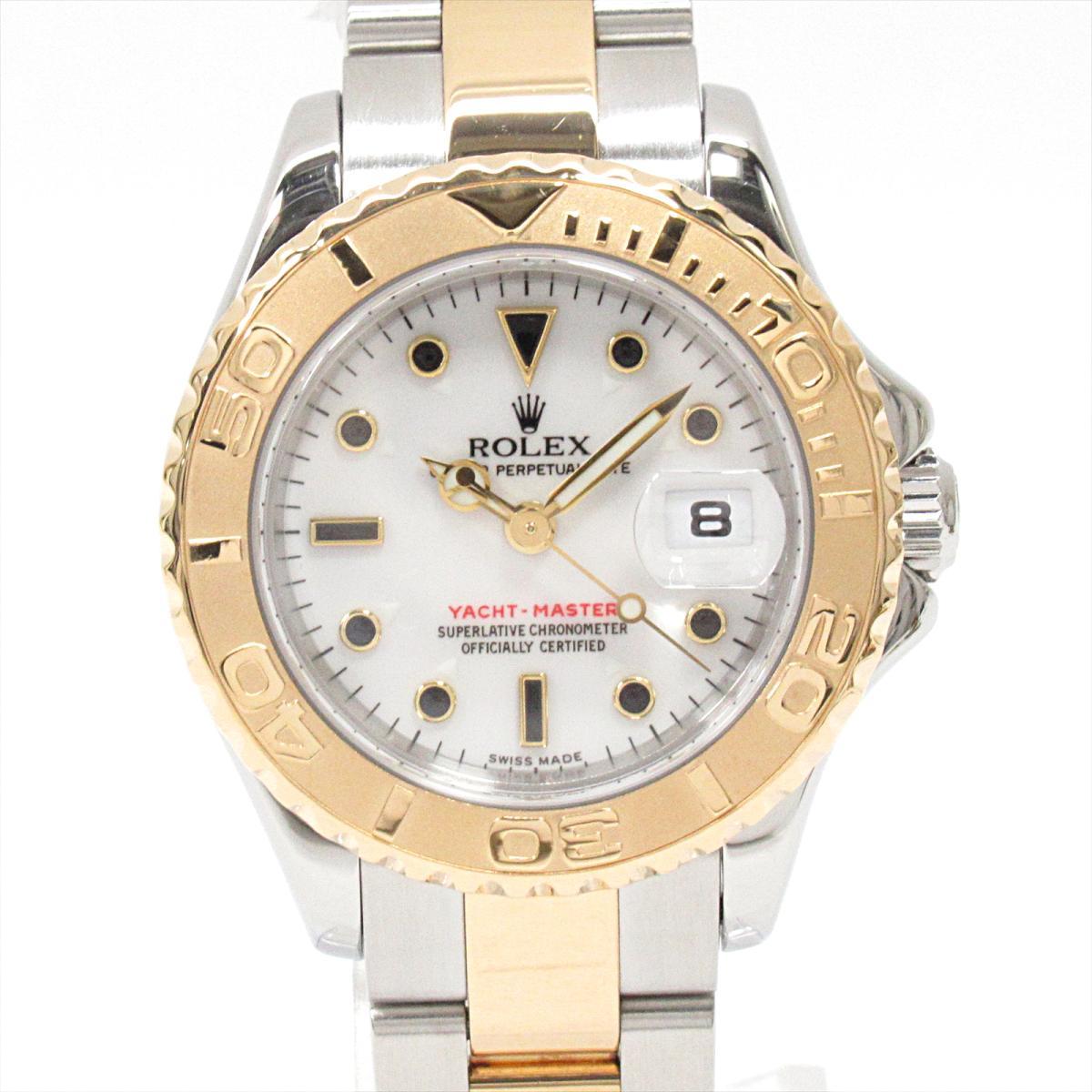 ≪期間限定≫メルマガ登録でクーポンGET! 【中古】 ロレックス ヨットマスター 腕時計 ウォッチ レディース ステンレススチール (SS) K18YG (イエローゴールド) (169623) | ROLEX BRANDOFF ブランドオフ ブランド ブランド時計 ブランド腕時計 時計